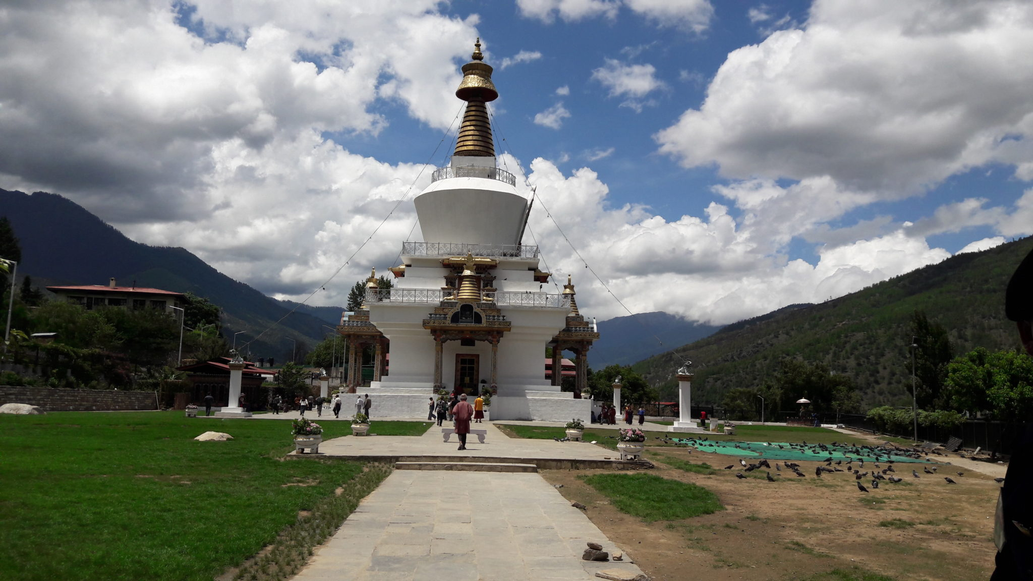National Memorial Chorten Thimpu Bhutan