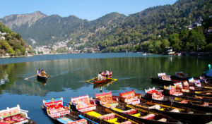 boating at naini lake, Nainital