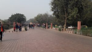 Heritage walk leading to Taj Mahal