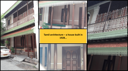 Old Tamil architecture